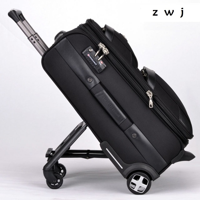 Man business rolling luggage travel bag 20 24 28 inch Men and women trolley suitcases trunk luggage