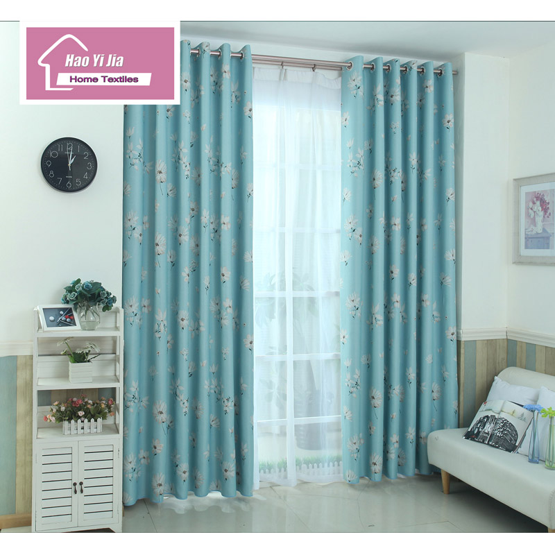 US $22.76 |Small Daisy Flower Curtain Fabric Living Room Bedroom Window The  Latest Flower Curtain-in Curtains from Home & Garden on AliExpress