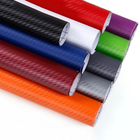 sticker motorcycle 127 Cm * 10 Cm 3D Carbon Fiber Car Color Film Body Sticker Car Decoration Decal Waterproof Wrap Motorcycle Auto Styling (1)