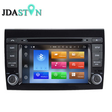 JDASTON 2 DIN 2G Android 6.0 Car DVD Player For Fiat Bravo 2007-2013 bluetooth Multimedia GPS Navigation Radio Stereo autoaudio