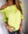 [Twotwinstyle] 2017 verão de slash neck ruffles mangas emendado mulheres t-shirt novo topos de moda