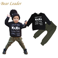 Bear Leader Autumn Style Baby Boy Clothing Sets Long-sleeve Letter T-shirt+Pants Newborn Boy Clothing Set Infant Costume