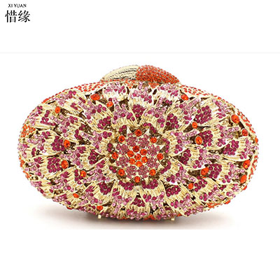 Здесь продается  XIYUAN BRAND women luxury Chinese Style Hollow out hasp Minaudiere Day Clutches wallets female wedding bag sac pochette Purse  Камера и Сумки
