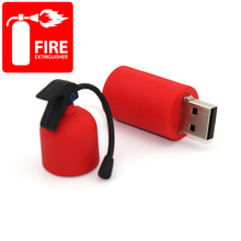 Cartoon Usb Flash Drive 64gb 8gb 16gb 32gb 2.0 Pen Drive 2tb Fire Extinguisher Pendrive 1tb Gift Mini Gadget Usb Memeory Stick