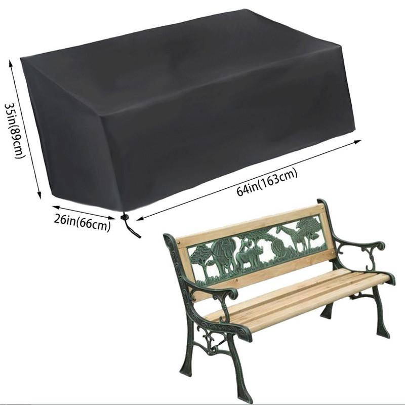 Bench Seat Cover Garden Patio Furniture