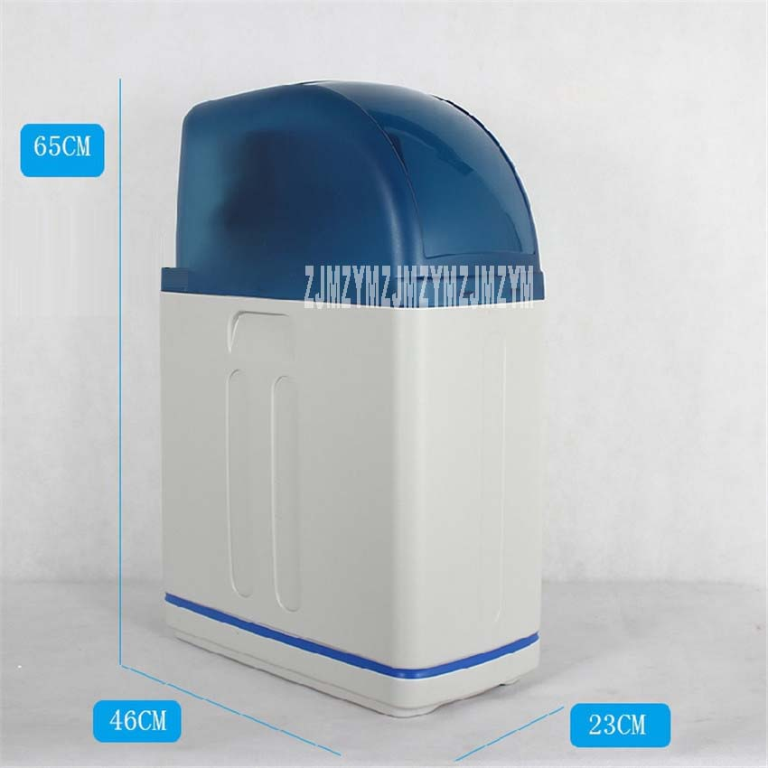 Home water softener remove scale anti scaling water purification 8L Resin filling capacity Time-type + drift resin ...