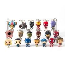 Поп Брелок экшн-фигурки Железный человек Анти-Хук Железный-спидермантанос Дэдпул Капитан Америка брелок игрушки-брелоки для подарка