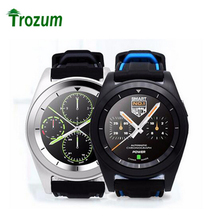 Trozum G6 Smart Watch On Wrist Bluetooth Wrist Watch MT2502 HD Screen  Heart Rate Sleep Monitor Pedometer Tracker  For Android
