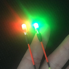 10/20/60/100 pcs CR311 Electronic Fluorescent Lightstick Luminous Float Dark Glow Stick Night Fishing Tackle Accessory FU042