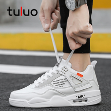 Купить с кэшбэком TULUO Classic New Men's Skateboarding Shoes Fashion Men Sneakers Shoes Men Shoes Breathable Flat Leisure Shoes
