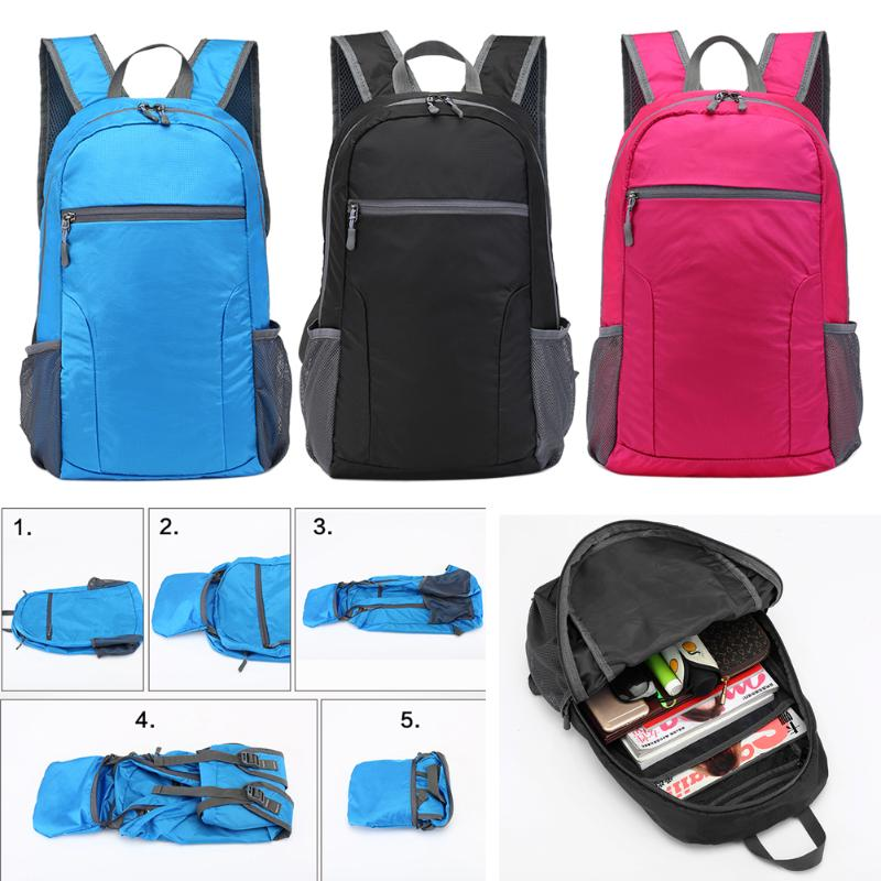 25L Packable Backpack Handy Lightweight and Roomy Foldable Camping Outdoor Travel Durable Waterproof Bags Size 43*29*16 cm