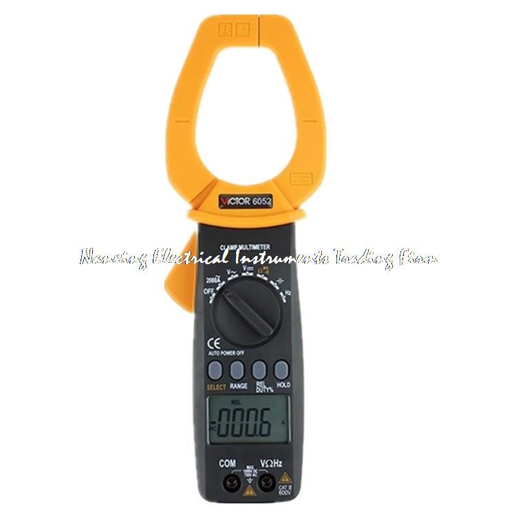 Fast arrival  VC6052 digitalClamp Meter  AC  2000A   AC current meter