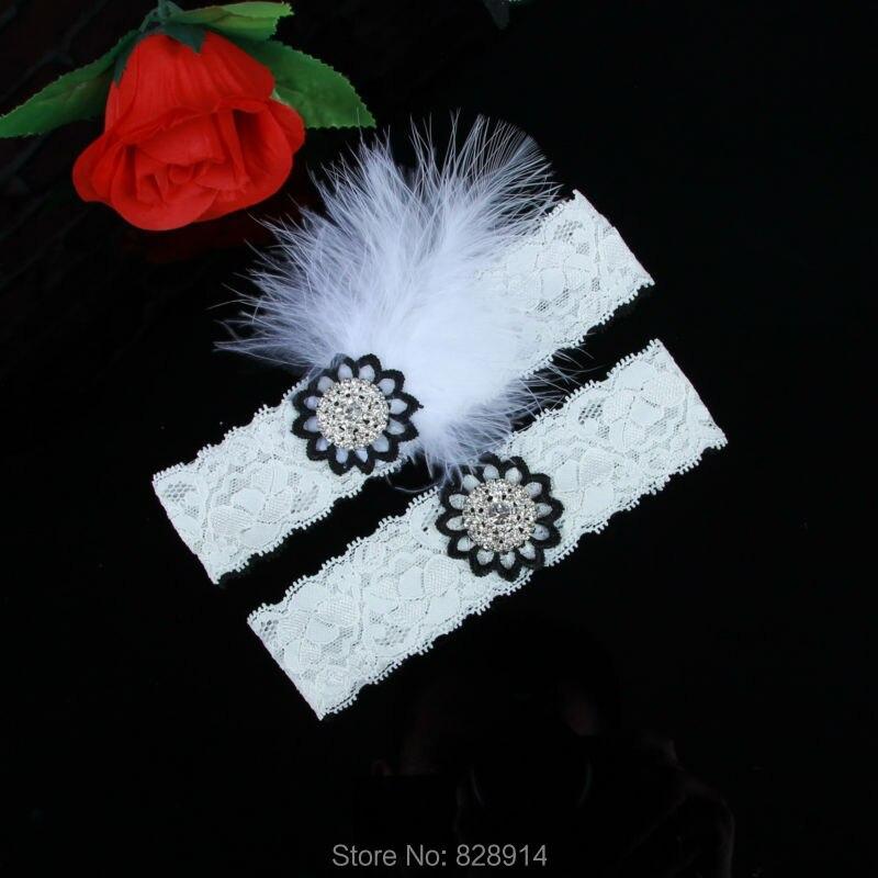 Vintage Lace Wedding Garter Set: Wholesales Vintage Stretched Lace Wedding Garter Set