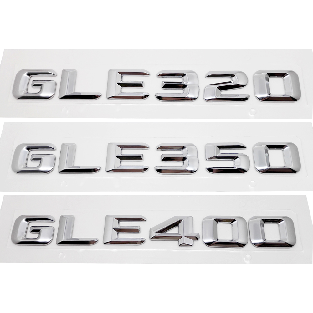 Automobiles & Motorcycles Car Stickers Car Rear Trunk Emblem Lettering Badge Sticker Gle320 Gle350 Gle400 For Mercedes Benz Gle Class W292 Auto Accessories Can Be Repeatedly Remolded.