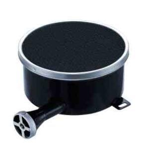 Single tube side gas inlet gas ring burner 110-200mm enamelled infrared gas cooktop burner black plate propane burners cooking