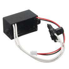 ABS Black Air Ionizer Ioniser Airborne Negative Anion generator High Output For Car 4.3 x 2.3 x 2.1cm Anion Generator EL Product