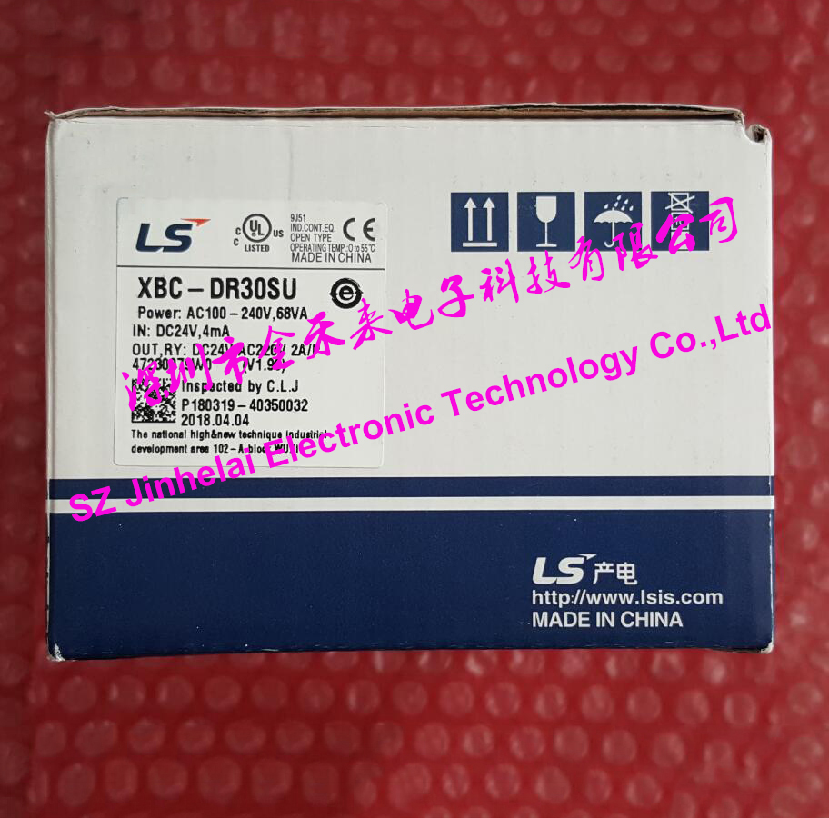 100% New and original XBC-DR30SU LS(LG) PLC controller 100% new and original xbc dr30su ls lg plc controller