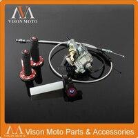 KEIHIN PZ30 30mm Carburetor Power Jet Accelerating Pump Visiable Throttle Twister Dual Cable IRBIS Pro Taper