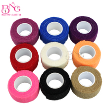 9pcs/lot Tattoo Accesories Tattoo Self Adhesive Elastic 2.5cm Wide Elbow Tattoo Bandage Nail Tapes Finger Protection Wrap
