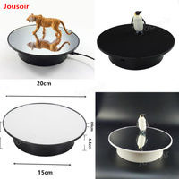 Electric rotating display stand jewelry shoe bag 360 degree video camera electric turntable CD50 T06