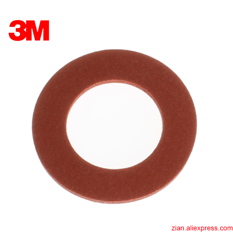3M 6895 Suction Hole Red Washer 6200 Half Mask 6800 Full Mask With Anti-leakage Mask Accessories Rubber Inside Pad
