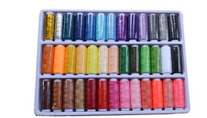39 Pcs 39 color sewing box set sewing machine line with thick line/hand stitching/household sewing thread package mail