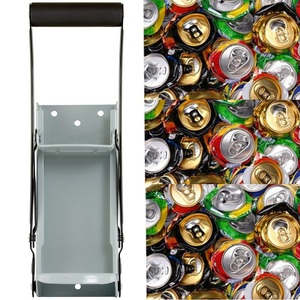Image 4 - Bottle Opener Beer Tin Can Crusher With Grip Handle Wall Mounted Recycling Tool Environmentally Friendly Coke Bottle Flattening