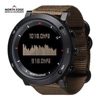 North Edge Sport Watch Smart Watch Digital Compass 50M Waterproof Watch Compass Inteligent Relogio Masculino Digital Sport Watch