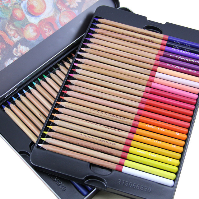 Oil Crayon Pencil Set Art Supplies Professional Artist