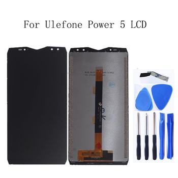6.0-inch For Ulefone power 5 LCD Display Touch screen digitizer replacement Accessories For Ulefone power 5 Assembly Phone Parts