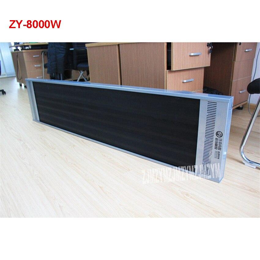 ZY 8000W электрический радиатор отопления Дальний инфракрасный нагреватель Электрический радиатор отопления инфракрасный обогреватель 8000 Вт