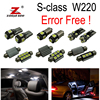 24pc X Error Free LED Interior Light Kit Package For Mercedes Benz S Class W220 1999