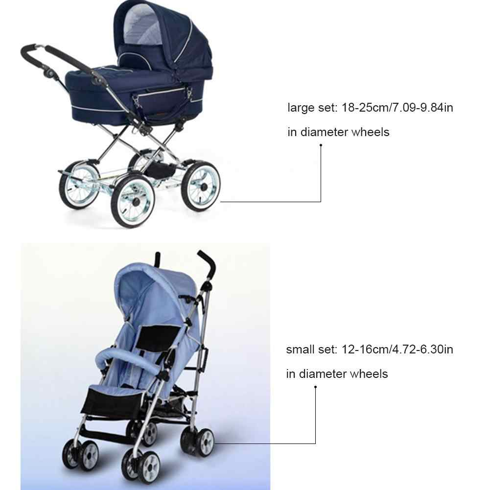 Newborn Umbrella Stroller S L Size Baby Stroller Umbrella Stroller Anti Dirty Dust Proof Wheel Cover Newborn Oxford Cloth Stroller Wheel Protector