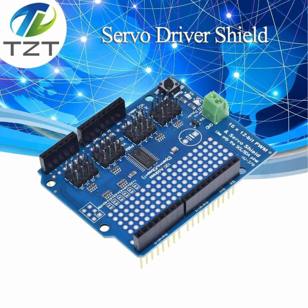 Motor/Stepper/Servo/Robot Shield for Arduino I2C v2 Kit w/ PWM Driver TOP