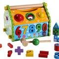 WYNLZQ экологически чистые Развивающие деревянные игрушки для малышей  Детские Многофункциональные Игрушки для раннего обучения  деревянные ...