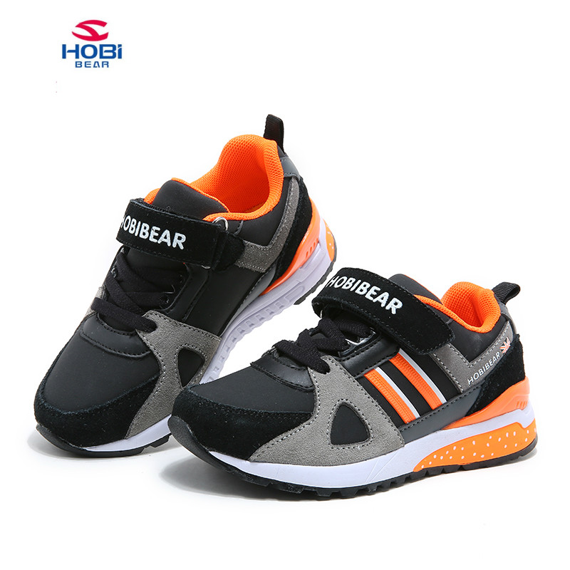 2018 New Arrival Kids Running Shoes Lightweight Children Sneakers Boys and Girls Comfortable Fashion Kids Hook loop shoes Shoes new 2016 child jazzy junior girls boys led light roller skate shoes for children kids sneakers with wheels