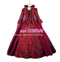 Hot Sale Victorian ROCOCO Gown Ball dress Gothic Costume Women Dress