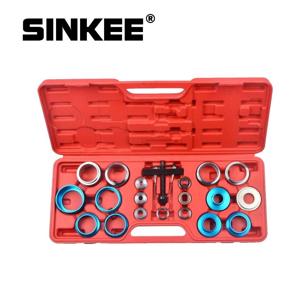 21pcs Crank Oil Seal Remover Installer Tool Set Kit Universal Seals 27mm - 58mm Crankshaft SK1145