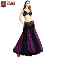 New Arrival Women Belly Dance Costume Set Bra Top Belt Skirt Dress Carnival Bollywood lady Cocktail ballroom Belly Dance wear все цены