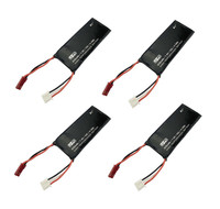 4PCS Hubsan X4 H502S H502E RC Quadcopter Parts 7.4V610mAh H502 16 battery Hubsan X4 FPV H502S H502E RC UAV