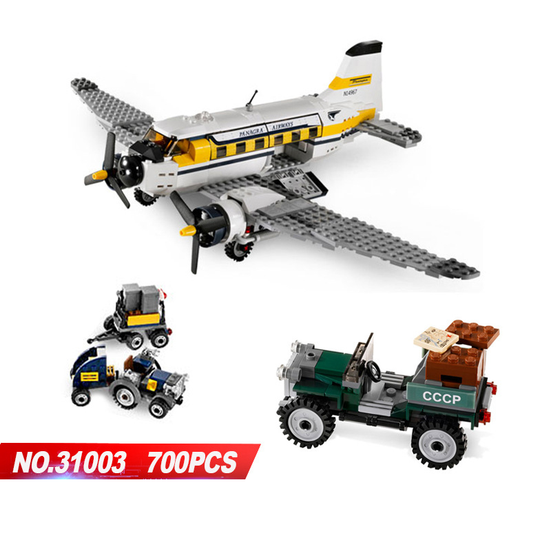 Classic series movie Indiana Peru Adventures building block jone figures plane cars bricks 7628 toys for kids gifts classic movie series king castle siege review building block mini ghost archer figures dark fiery dragon lepine bricks 7094 toys