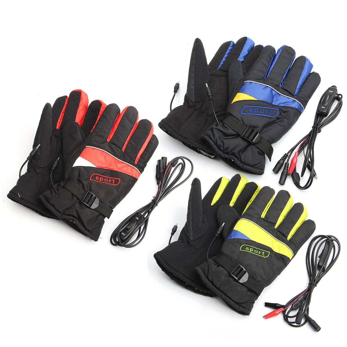 Motorcycle gloves heated battery - Gloves Electric Heating Outdoor Li Ion Battery Motorcycle Bicycle Hunting Winter Warmer Dc 12v A