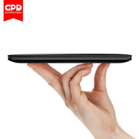 GPD Pocket 2 Amber 7 Inch Touch Screen Mini PC Pocket Laptop UMPC ultrabook Intel Celeron CPU 3965Y Windows 10 System 8GB/128GB