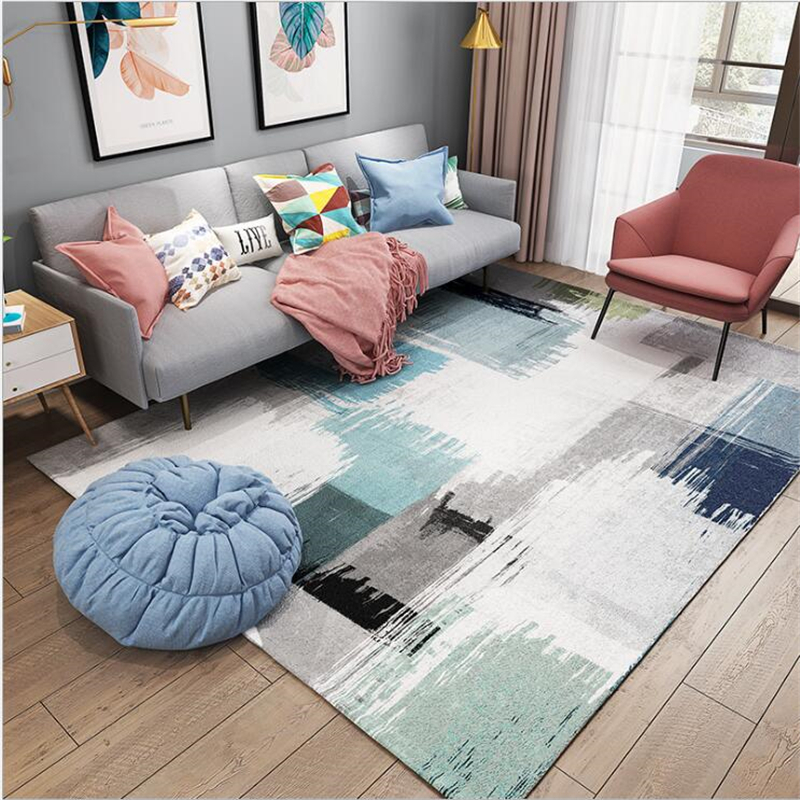 Apartment Living For The Modern Minimalist: AOVOLL Modern Minimalist Nordic Carpet Living Room Carpet