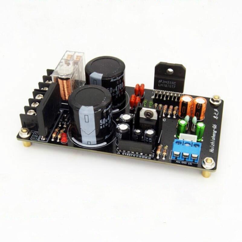 22 Watt Reine Post-verstärker Mit Upc1237 Schutz Für Bücherregal Lautsprecher 1 Stück Verstärker Trendmarkierung Ghxamp Hifi Lm1876 2,0 Verstärker Bord Diy Kits 22 Watt