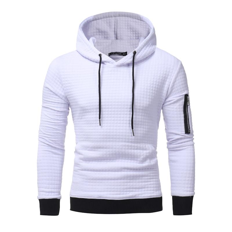 2017 New High End Casual Hoodie Men S Fashion Unique Korean Style Long Sleeved Sweatshirt