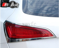 For Audi Q5 2013 2014 2015 2017 High Quality ABS Chrome Taillight Cover After Light Lamp