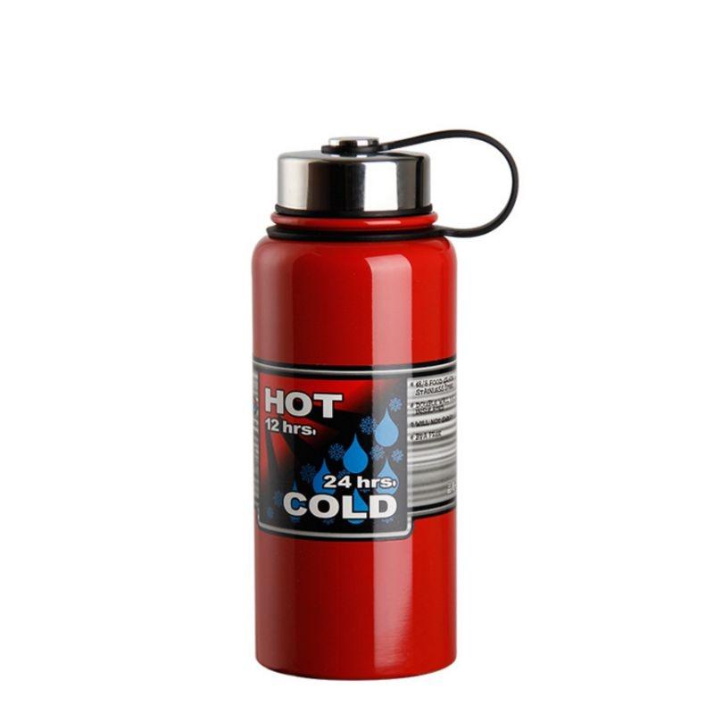 1200ml 900ml Car Large capacity stainless steel water bottle Kettle botella de agua shaker camping sport Bike drink whey