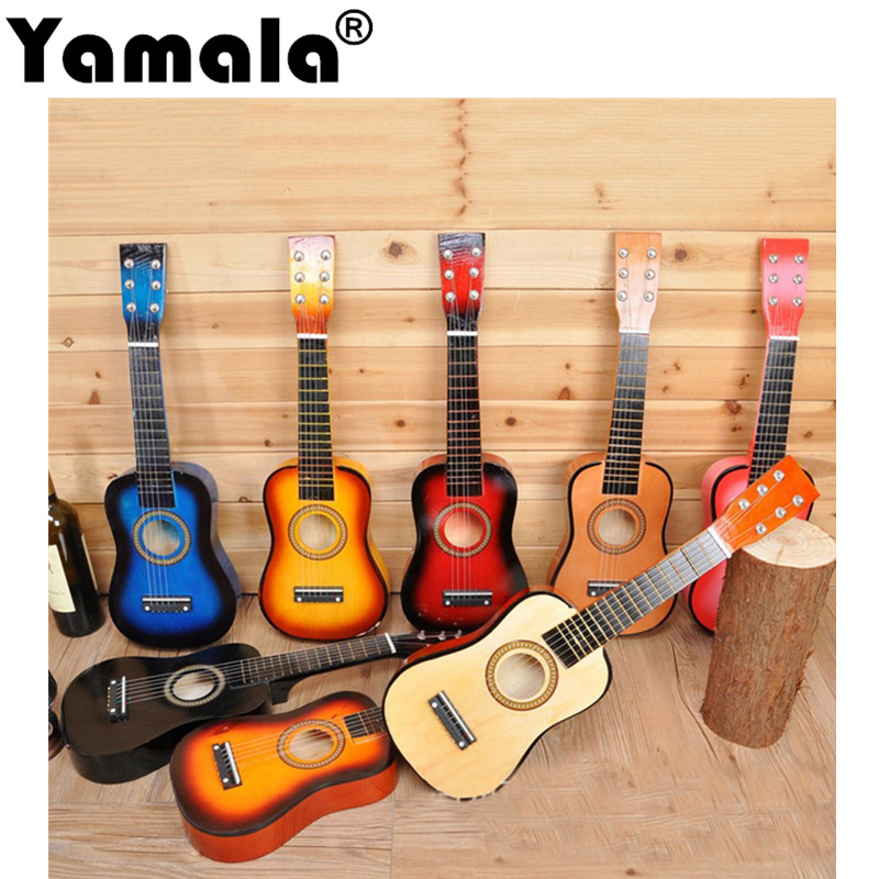 [Yamala] Children Guitar Baby Guitar Birthday Gift Children Musical Instruments Sound Toys Musical Toys Instrumento Musical Toy