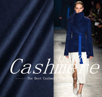 Italy cashmere fabric cloth cashmere fabric orders a special offer luxurious double blue winter thickening